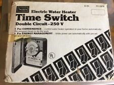 Sears Electric Water Heater Time Switch (34-5898), 10,000watts, 40 amps, 2HP, 25