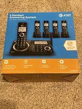 AT&T CL83519 Answering System Smart Call Blocker Cordless Phone 5 Handset ATT