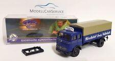 """Brekina Sondermodell H0: Mercedes-Benz LP 334 Pritsche """"Mönchshof-Bräu Kulmbach"""""""