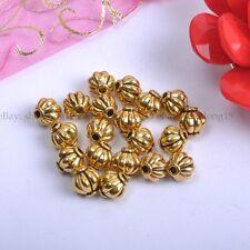 Tibetan Silver, Gold, Bronze, Charms Spacer Beads  Choose 4MM 6MM 8MM SH117