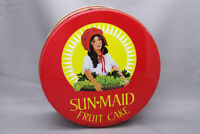 Vintage Sun-Maid Fruit Cake Tin