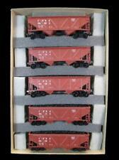 Athearn ~HO~ 6105 ~ Burlington Route ~ CB&Q ~ 34' CS ~ Hoppers ~ 5-Pack ~ w/Coal