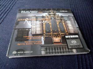 SACD Hybrid Organ Orgel Orgue Froberger 6 Hermans Sp Santo Pistoia AEOLUS sealed