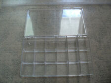 18 Grids Plastic Box Case Jewelry Bead Storage Container Craft Organizer
