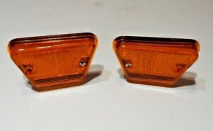 New Front Side Marker Light Assemblies for Triumph TR6 1969-76 Both Sides