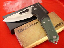 "Lansky Sharpeners 5.5"" Willumsen Design Urban Tactical Lock Blade Knife MINT"