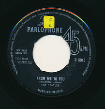 "THE BEATLES 45 TOURS 7"" UK FROM ME TO YOU"