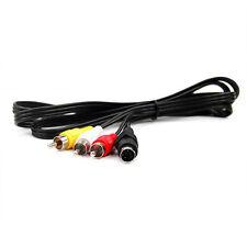 Câbles et adaptateurs avec un connecteur RCA mâle pour écran et équipement audio et vidéo