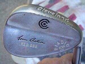 #1 Cleveland 588 Tour Action Chrome Diadic 53* Gap Wedge Golf Club Men's RH