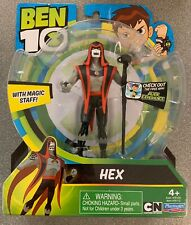 2017 PLAYMATES ITEM # 76112~BEN 10~HEX WITH MAGIC STAFF~NEW IN PACKAGE