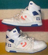 Vintage 1980s Converse Hytest Leather High Basketball Sneakers Mens 10 Og 80s