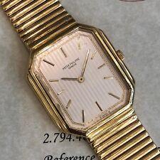 df509dd725b PATEK PHILIPPE Gondolo 18k Yellow Gold w  Bracelet Ref. 3853 4 - Rare