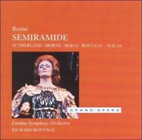 Rossini: Semiramide by Sutherland; Horne; Serge; Malas; Bonynge