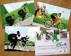 cyclisme - 4 Cartes SKODA Tour de France année 2015
