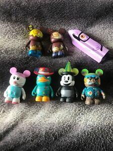 Disney Vinylmations 7 various  figures