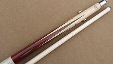 New Elite Playing Cue - Tiger Everest Tip Irish Linen Wrap 6 Rosewood Points