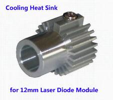 Heat Sink Holder/ Cooling Heatsink/ Heat Sink for 12mm Laser Diode Module Silver