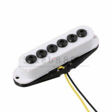 Single Coil Pickup Middle Position for Electric Guitar Bass White