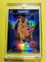 Ja Morant 2019-10 Panini Prizm Draft Rookie Blue Prizm #2 Grizzlies RC Rookie SP