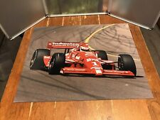 Indy Car #1 Budweiser King Of Beer Vintage Photo Poster 16� X 20�