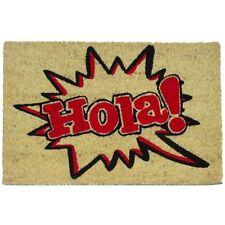FELPUDO HOLA ROJO. ¡ENTREGA 24/48 HORAS!.