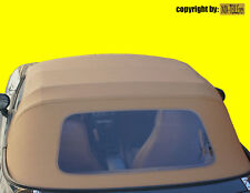 MAZDA MX-5 NA NB Vinyl-Verdeck Faltdach beige einteilig hellbeige sandfarben NEU
