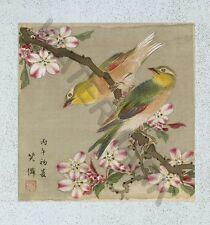 Yoshizawa UCCELLI FIORI GRANDE art print poster llf0856