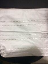 Hotel Collection Sonnet Embroidered European Euro White Cotton Sham