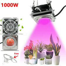 1000W COB Led Grow Light Kit Full Spectrum Lamp For Plant Hydroponics Flower US
