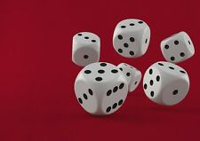 A1| Casino Dice Roll Poster Print Size 60 x 90cm Gaming Dice Poster Gift #15921