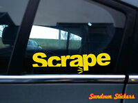 "2x "" Scrape "" stanced 