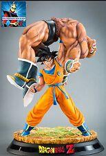 Goku vs nappa dragon ball statue tsume hqs the quiet write son  goku originale