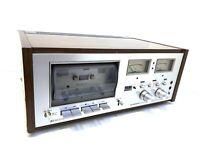 PIONEER CT-F8282 Hi End Stereo Cassette Deck Vintage 1976 Refurbished Good Look