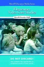 Elementary Video Case Studies, Pearson Education, Merrill Education, New Book