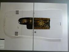 Porsche 917 16 Cylinder Prototype Spyder Showroom Advertising 2 Poster Set RARE!
