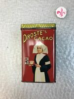 Droste ' S Vintage Tin Droste Cocao Tin Chocolate Canister Holland Netherland