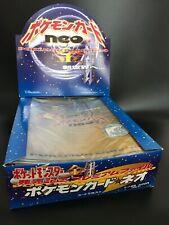 Neo genesis premium file PSA 10 promotional Japan Pokemon Tcg vending promo