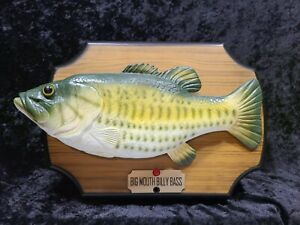 Big Mouth Billy Bass Singing Fish 1999