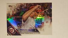 2016 Topps Update #US169 Max Scherzer Baseball Card