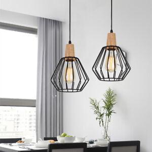 Black Pendant Light Kitchen Modern Pendant Lighting Bar Lights Wood Ceiling Lamp