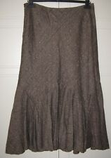 Per Una  ** long wool blend skirt ** UK SIZE 14 S  ** Excellent condition