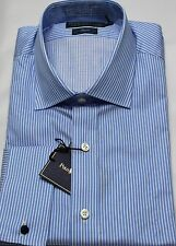 Ralph Lauren Polo Mens Dress Shirt 16 40 41 Regent Fit Blue White French Cuff