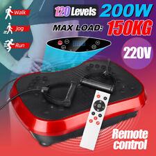 220V 200W Exercise Vibration Machine Platform Fitness Slim Body Trainer Plate