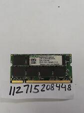 256MB DDR1 DDR PC2100 PC 2100 266 266MHZ 200 PIN 200-PIN SO-DIMM SODIMM  16X8