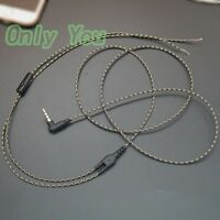 3.5mm DIY Earphone Audio Cable with Mic Repair Replacement Headphone Wire AA0186