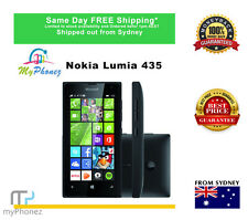 Brand New Microsoft  Lumia 435 Dual SIM - 8GB - Black Unlocked CHEAP Smartphone