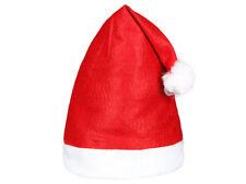Cappello Babbo Natale (wm-32) cappellino rosso taglia unica per adulti