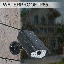 Solar 30 LED Wall Light  Simulation Monitoring Home Street Outdoor Garden IP65