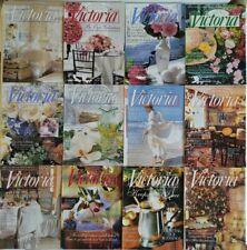 Lot of 12 VICTORIA MAGAZINE COMPLETE ELEVENTH VOLUME 1997 Vol. 11 No. 1-12