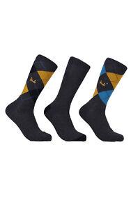 Mens Pringle 3 Pack Socks Waverley L4100 FAS3